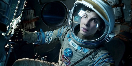 Movie Review: Gravity Sandra Bullock