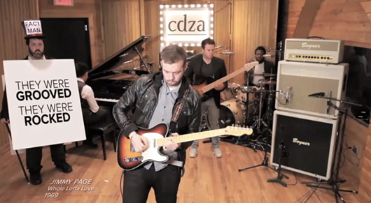 CDZA The Instrumentals Journey of Guitar Solo
