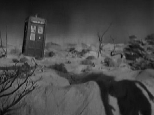 "The first scene shot for the first Doctor Who episode ""An Unearthly Child"""