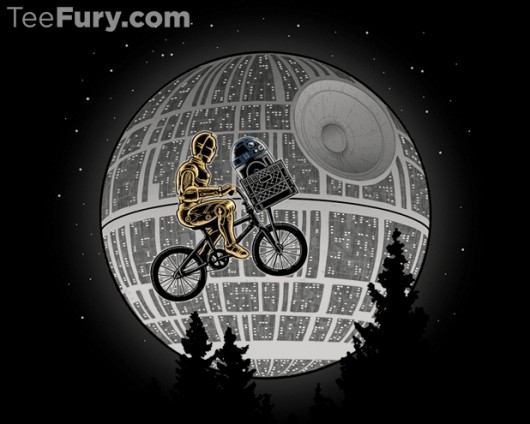 Star Wars E.T. shirt E2T2