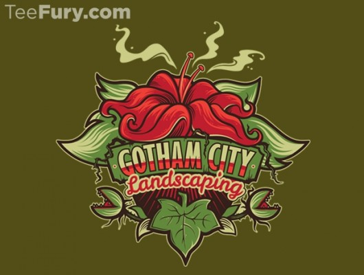 Batman Gotham City Landscaping Shirt