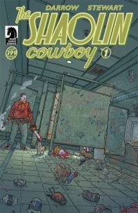 Dark Horse Comics: Shaolin Cowboy #1 cover by Geof Darrow