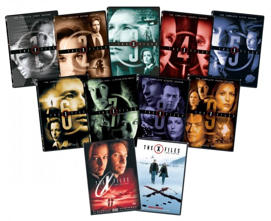 The X-Files: The Complete Series + Movies DVDs