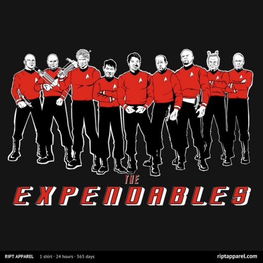 Star Trek The Expendables The Trexpendables design