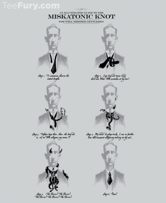 H.P. Lovecraft The Miskatonic Knot Guide Shirt