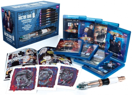 Doctor Who: Series 1-7 Limited Edition Blu-ray Giftset details