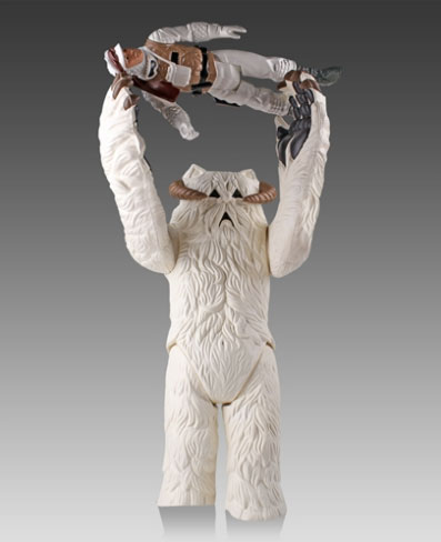 Wampa Kenner-Inspired Jumbo Figure With FREE Luke Hoth Kenner Figure
