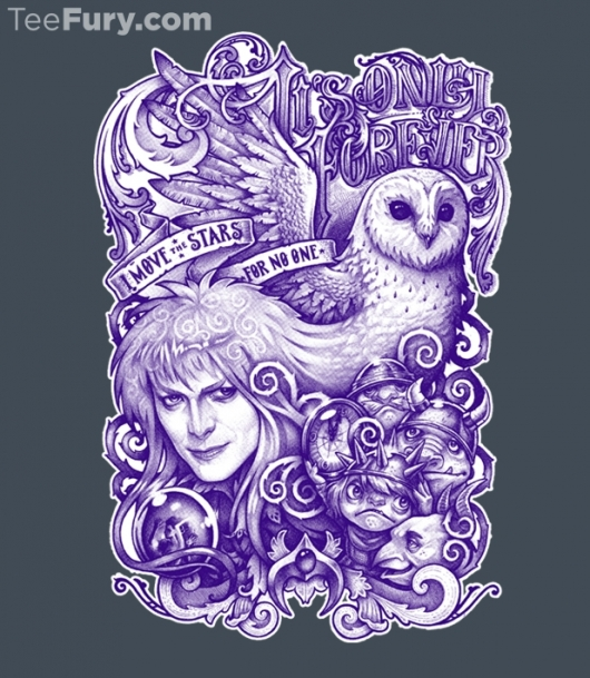 Labyrinth It's Only Forever Shirt