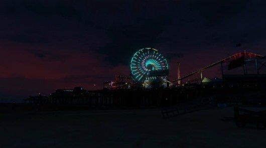 Grand Theft Auto Timelapse