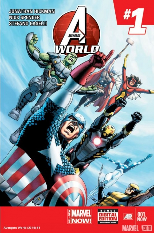 Avengers World Cassaday Cover