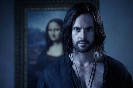 Da Vinci's Demons Season 2 Mona Lisa Tom Riley as Leonardo da Vinci