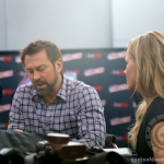 SDCC 2013: Grant Bowler and Julie Benz of Defiance