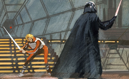 Ralph Mcquarrie's Concept Art For Empire Strikes Back