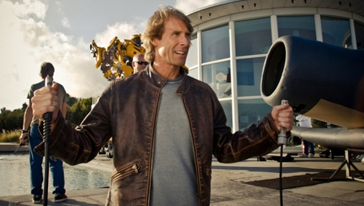 Michael Bay Attack By Man Arm With An AC Unit