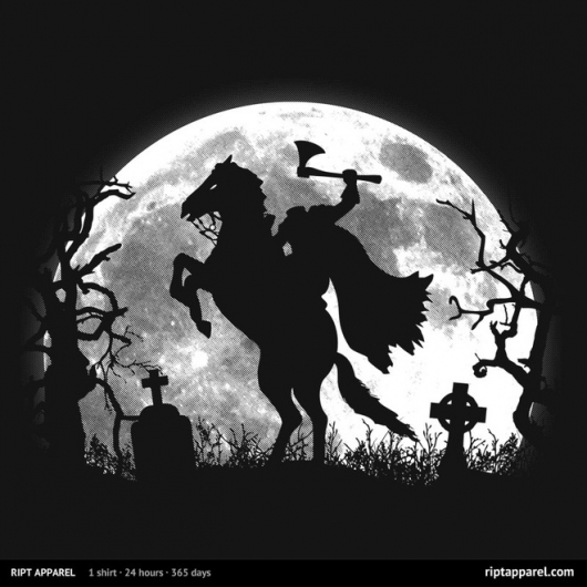 Sleepy Hollow Headless Nightmare Shirt