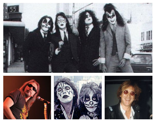 Ace Frehley, Peter Criss KISS Dressed To Kill