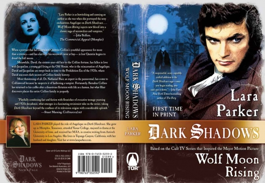 Dark Shadows: Wolf Moon Rising cover spread
