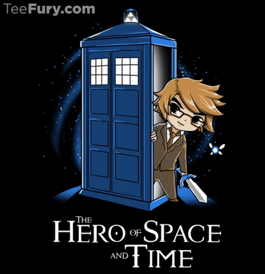 Doctor Who Hero of Space and Time Shirt