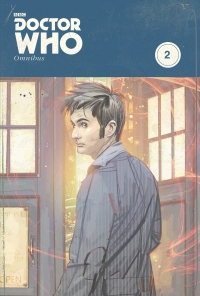 IDW Publishing: Doctor Who Omnibus, Vol. 2 cover by Tommy Lee Edwards