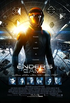 Ender's Game Movie Poster Lionsgate