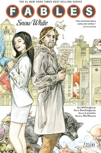 Vertigo Comics: Fables, Vol. 19 cover by Mark Buckingham