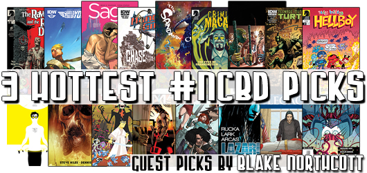 New Comic Book Day Picks by Blake Northcott