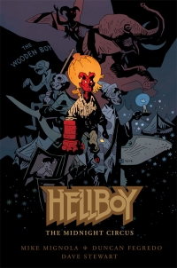 Dark Horse Comics: Hellboy: The Midnight Circus cover by Mike Mignola