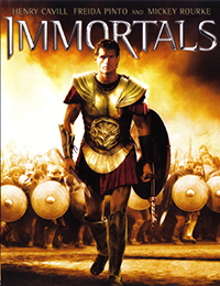 Immortals Cover Poster - Relativity Media