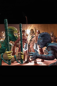 Kick-Ass 3 #4 cover by John Romita, Jr., Marvel Comics