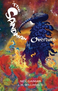 Sandman Overture #1 cover by J.H. Williams III, Vertigo Comics