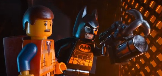 The Lego Movie Still Batman and Emmet