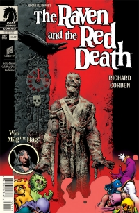 Dark Horse Comics: The Raven And The Red Death cover by Richard Corben