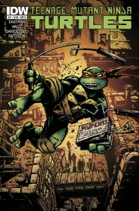 IDW Publishing: Teenage Mutant Ninja Turtles #27 cover B by Kevin Eastman