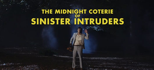 SNL's Trailer For Wes Anderson Horror Movie The Midnight Coterie Of Sinister Intruders