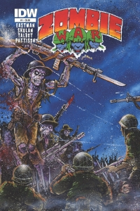 IDW Publishing: Zombie War #1 cover by Kevin Eastman