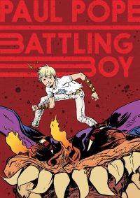 Battling Boy cover by Paul Pope