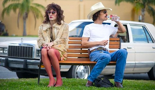 Dallas Buyers Club starring Jared Leto and Matthew McConaughey