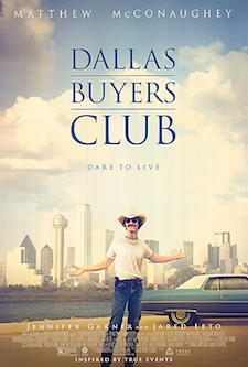 Movie Review: Dallas Buyers Club Movie Poster