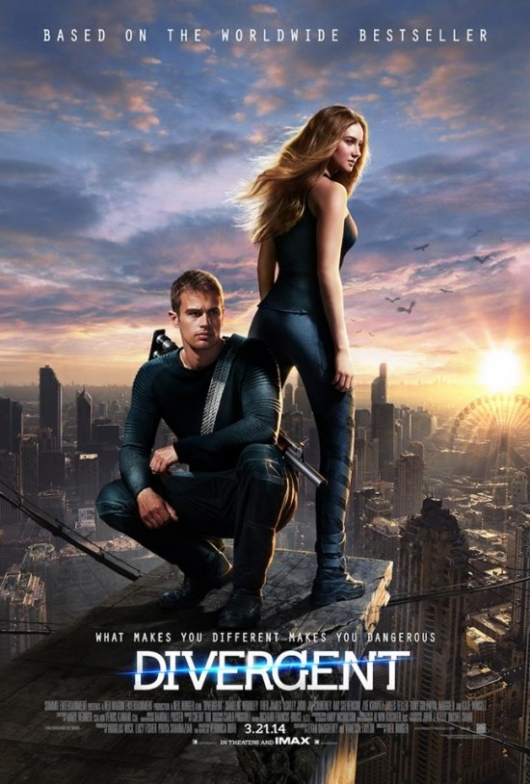 Divergent Poster Shailene Woodley And Theo James