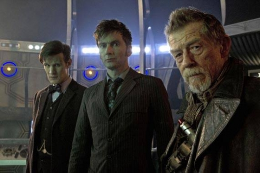 Doctor Who 50th anniversary special Matt Smith David Tennant John Hurt
