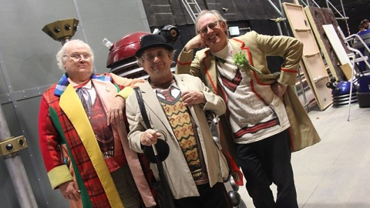 Doctor Who The Five(ish) Doctors Reboot Colin Baker, Sylvester McCoy, Peter Davison