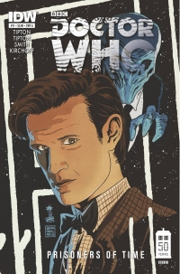 Doctor Who: Prisoners of Time #11 cover by Francesco Francavilla