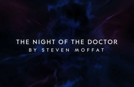 Doctor Who The Night of the Doctor title card