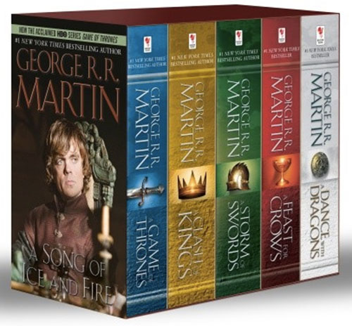 George R.R. Martin's 'A Game of Thrones' 5-Book Boxed Set