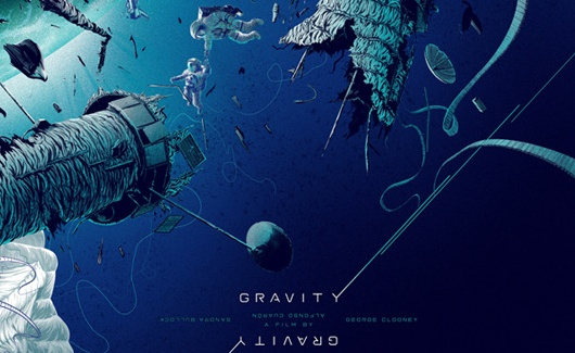 Gravity Mondo Poster By Kevin Tong Preview