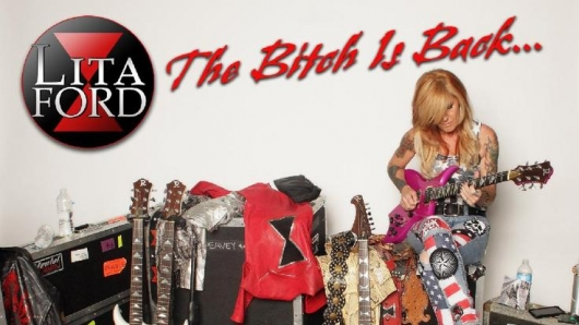 Lita Ford The Bitch Is Back...Live album