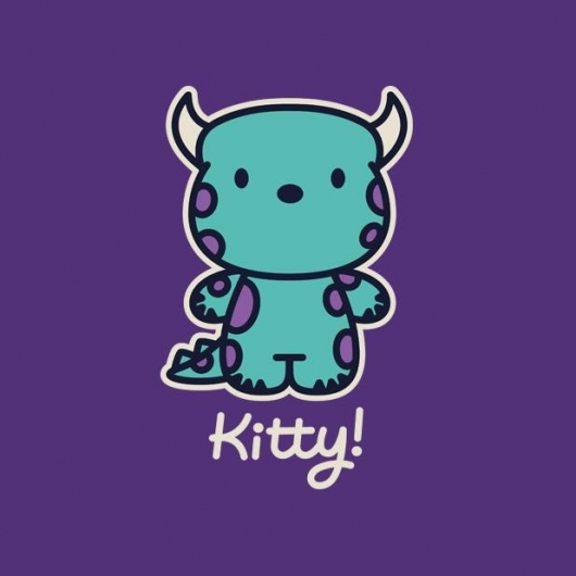 Monsters Inc Kitty! Shirt