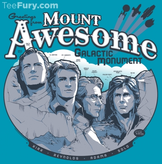 Mt Awesome Galactic Monument Shirt