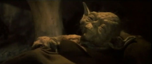 Return of the Jedi Yoda deleted scene