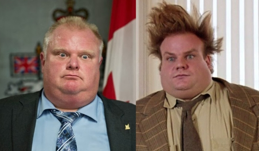 Rob Ford/Chris Farley Mashup